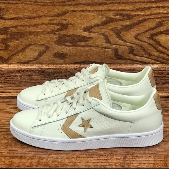 68268ccd8bc5 Converse PL 76 OX Egret Tan Egret Shoes